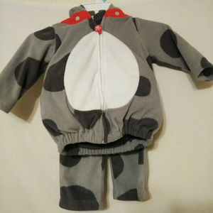 Carters size 6-9 month Puppy Costume Halloween